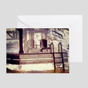 Memories Of Muskoka Art Work Greeting Card