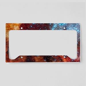 Galaxy of Stars Nebula License Plate Holder