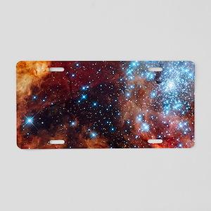 Galaxy of Stars Nebula Aluminum License Plate
