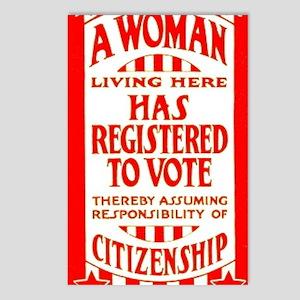 Citizenship Door Sticker Postcards (Package of 8)