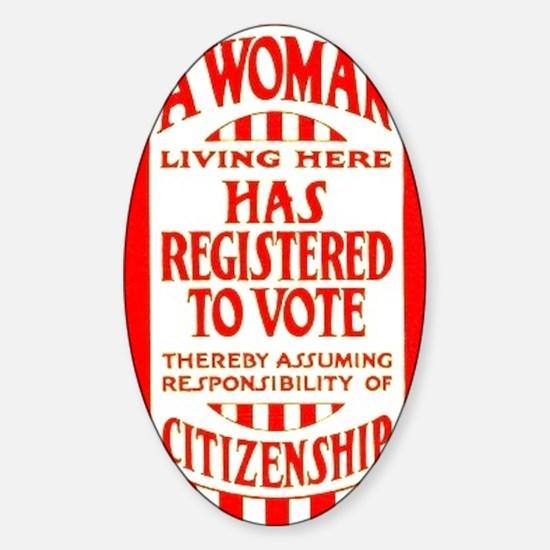 Citizenship Door Sticker Sticker (Oval)