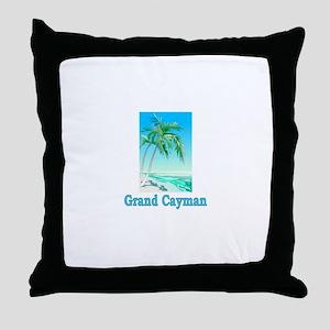 Grand Cayman Throw Pillow