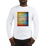 Proud Homeschool Dad Long Sleeve T-Shirt