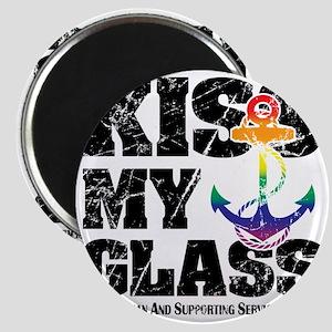 Kiss My GLASS Magnet