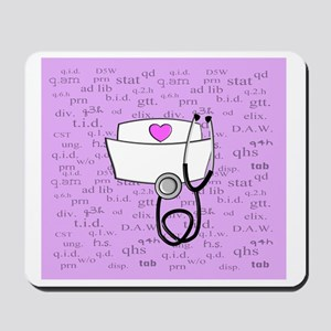 Nurse Pink Mousepad