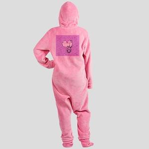 Nurse Pink Footed Pajamas