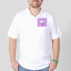 Nurse Pink Golf Shirt