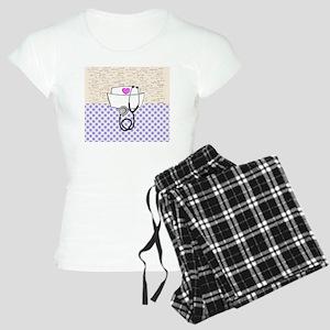 Nurse Purple Women's Light Pajamas