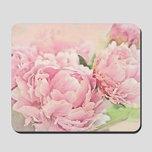 Pink Peonies Mousepad
