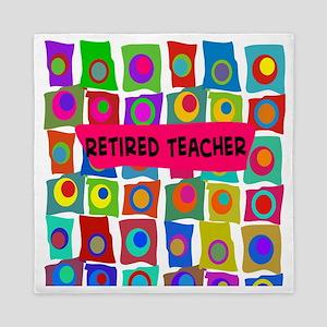 retired teacher 2 Queen Duvet