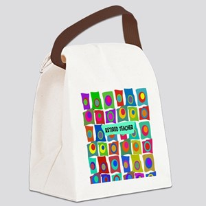 Retired Teacher Canvas Lunch Bag
