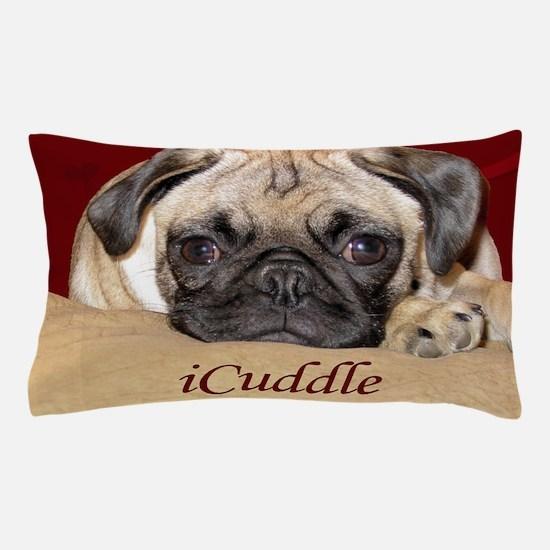 Adorable iCuddle Pug Puppy Pillow Case