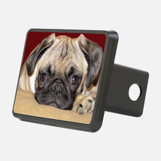 Adorable iCuddle Pug Puppy Hitch Cover