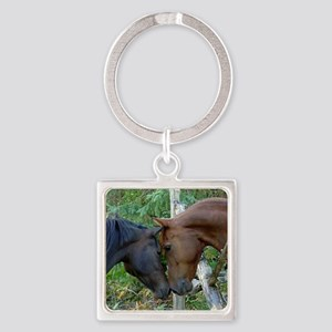 Best Friends Forever Square Keychain