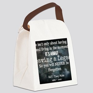 Leaving a Legacy Tee Canvas Lunch Bag