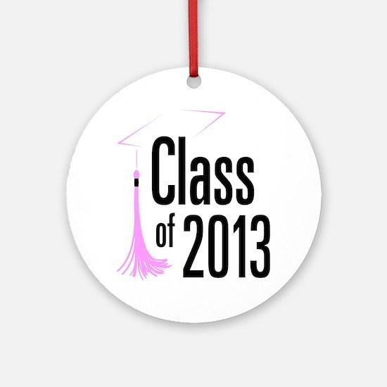 Graduation Class of 2013 Round Ornament