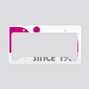 Diva Since 1967 License Plate Holder