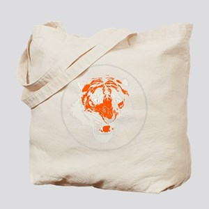 Tiger Face Close-Up Tote Bag