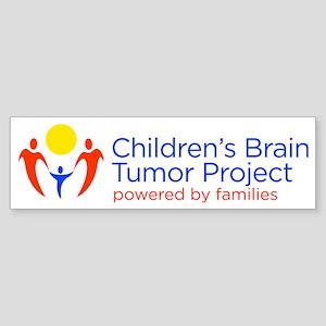 Childrens Brain Tumor Project Sticker (Bumper)