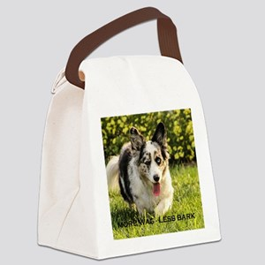 More Wag - Less Bark Canvas Lunch Bag