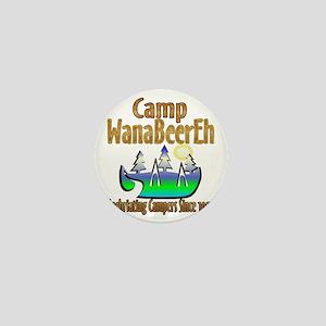 Camp WanaBeerEh Mini Button