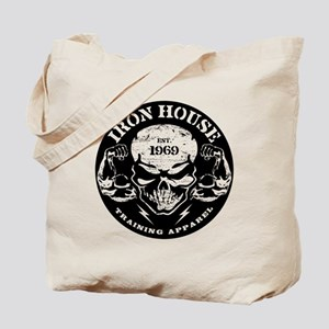 Iron House Muscle Skull Tote Bag