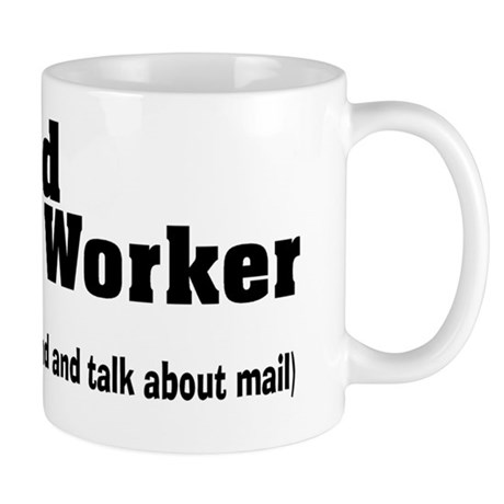 Retired Postal worker talk about mail Mug