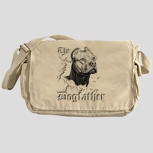 The Pit Bull Dog Father Messenger Bag