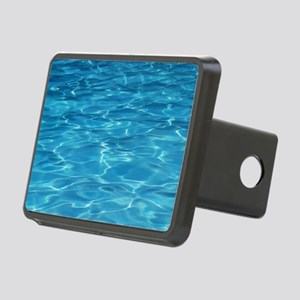 Blue Pool Rectangular Hitch Cover