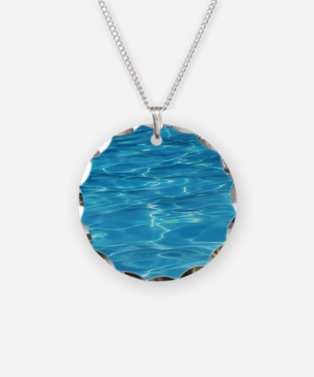 Blue Pool Necklace