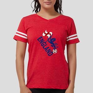 England Football Flag and Lion T-Shirt