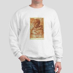 Luther the Monk Sweatshirt
