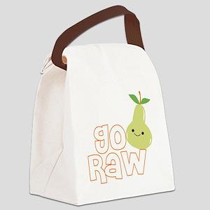 Go Raw Canvas Lunch Bag