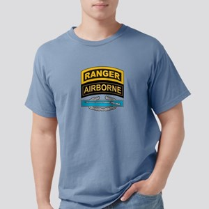 CIB with Ranger/Airborne Tab T-Shirt