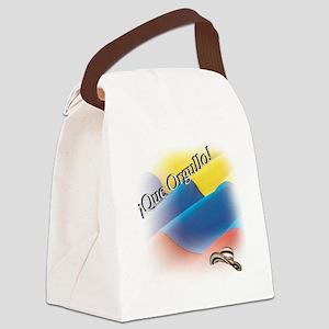 que orgullo Canvas Lunch Bag