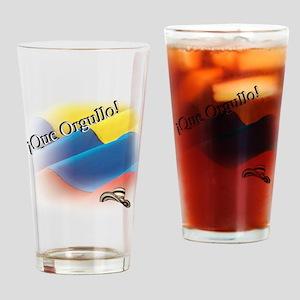 que orgullo Drinking Glass