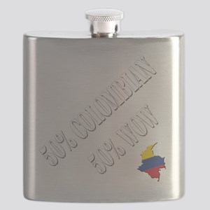 colombian blend - white Flask