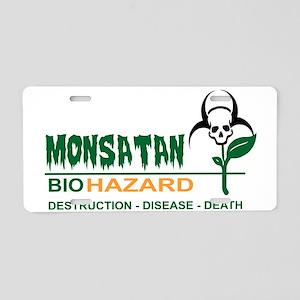 Monsanto Logo 2 Aluminum License Plate