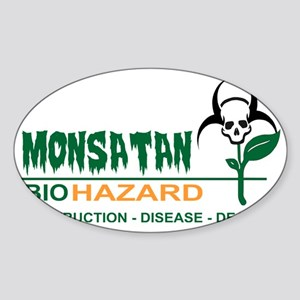 Monsanto Logo 2 Sticker (Oval)