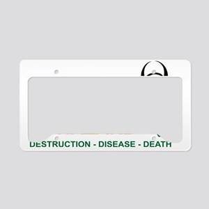 Monsanto Logo 2 License Plate Holder