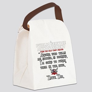 Full PSA Canvas Lunch Bag