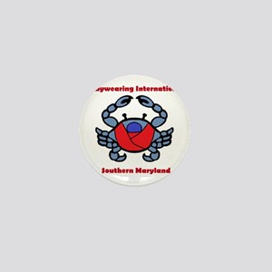 Crab Logo Mini Button