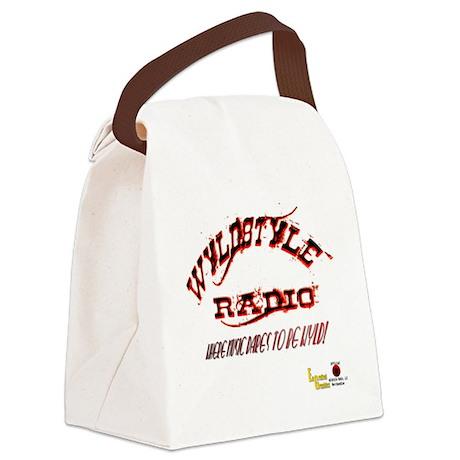 wyldstyle radio shot glass! Canvas Lunch Bag