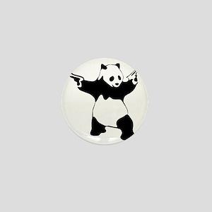 Panda guns Mini Button