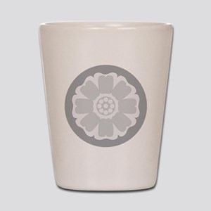 White Lotus Tile Shot Glass