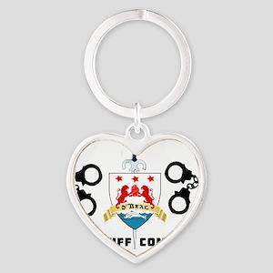 ONeal Handcuff Company 3 Heart Keychain