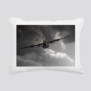RAF C130 Rectangular Canvas Pillow
