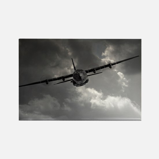 RAF C130 Rectangle Magnet