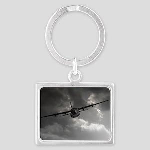 RAF C130 Landscape Keychain