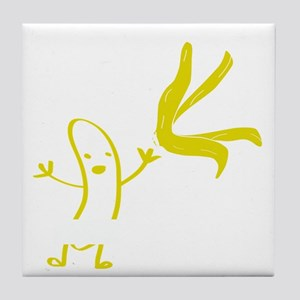 Banana dance Tile Coaster